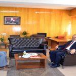 Vali Kaban, Başsavcı Usta'ya Hoş Geldin Ziyaretinde Bulundu