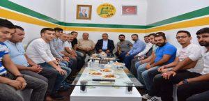 Başkan Kutlu ve Milletvekili Boynukara'dan Taraftar Gruplarına Ziyaret