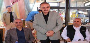 Başkan Aydın'dan Aksoy'a Veda Programı