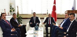 Madef Yönetimi, Başkan Gürkan'ı Ziyaret Etti