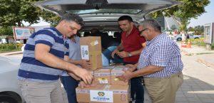 Malatya Büyükşehir'den Mültecilere Yardım