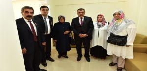 Başkan Gürkan, Şehit Aileleri Ve Gazilerle Biraraya Geldi