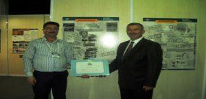 Tarihi Kentler Birliğinden Belediyemize Ödül Verildi