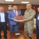 Keskin'den İl Jandarma Komutanı Albay Yılmaz'a Ziyaret