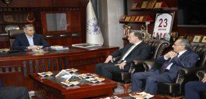 Osbük Heyetinden Başkan Yanılmaz'a Ziyaret