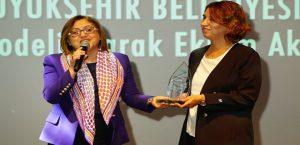 """Büyükşehir'in Biyogaz Enerji Tesisine """"En İyi Proje"""" Ödülü"""