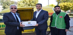 Malatya Büyükşehir'den İlaç Yardımı