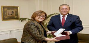 KKTC Turizm Bakanı Ataoğlu Başkan Şahin'i Ziyaret Etti