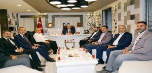 AK Parti Heyetinden, Başkan Kutlu'ya Ziyaret