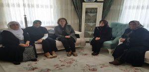 Bayan Kaban, Hac'dan Dönen Şehit Ailelerini Ziyaret Etti