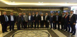 Bakan Tüfenkci, Malatya İlçe Muhtarları İle Bir Araya Geldi