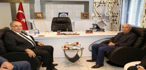 Çelikhan Belediye Başkanı Bulut'tan,Başkan Kutlu'ya 'Teşekkür' Ziyareti