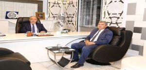 Şambayat Belediye Başkanı Arıcı'dan, Başkan Kutlu'ya Ziyaret