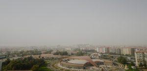 Kuraklık ve Toz Bulutu Hava Kirliliği Riskini Artırıyor