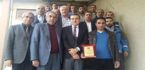 Türkiye Muhtarlar Federasyonu Malatya Şubesi'nden Fırat EDAŞ' a Teşekkür!