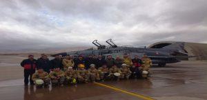 İtfaiye Personeline Uçak Yangınları Konusunda Eğitim