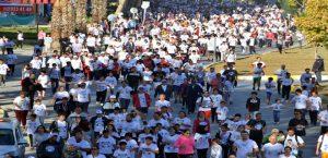 65 Bin Kişi Barış, Huzur ve Kardeşlik İçin Koştu