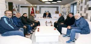 STK'lardan Başkan Kutlu'ya Ziyaret