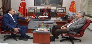 Başsavcı Usta'dan MESOB Başkanı Keskin'e Ziyaret