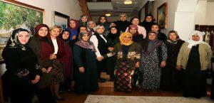 Vali Kaban'ın Eşi Neriman Kaban, Şehit Ailelerini Ağırladı