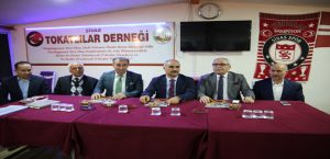 Başkan Aydın'dan Tokatlılar Derneğine Ziyaret