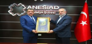 Başkan Gürkan, ANESİAD Malatya Şebesini Ziyaret Etti