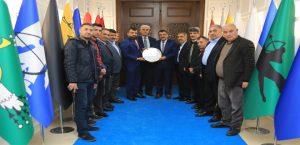 Tarım Ve Hayvancılık Platformu Başkanı Akın, Başkan Gürkan'ı Ziyaret Etti