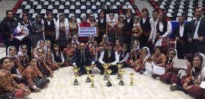 Malatya Yöresine Ait Halk Oyunları Gösterisi Sundu