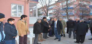 Vali Kaban, Şehit Miraç Gürhan'ın Ailesine Taziye Ziyaretinde Bulundu