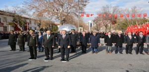 Atatürk'ün malatya'ya gelişinin 87. Yılı törenlerle kutlandı