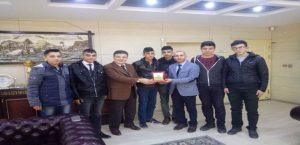Baskil'li Gençlerden Av.İbrahim Gök'e Teşekkür Ziyaret