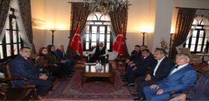 Sevinç'ten Vali Kaldırım'a ve Başkan Gürgöze'ye Ziyaret