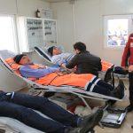 Temizlik İşçileri, Afrin Kahramanlarına Kan Bağışı