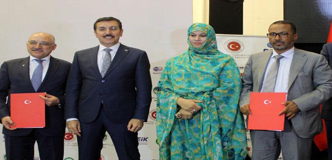 Bakan Tüfenkci, Moritanya-Türkiye Ekonomi ve İş Forumu'na Katıldı