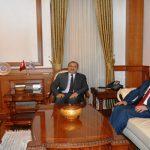 Büyükşehir Belediye Başkanı Polat'dan Vali Kaban'a Ziyaret