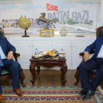 Milletvekili Şahin, Başkan Gürkan'ı Ziyaret Etti