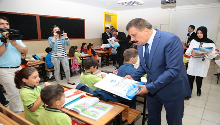 Gürkan Eğitim Öğretim Yılında Öğrenciler İle Biraraya Geldi