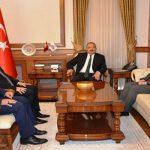Diyanet İşleri Başkan Yardımcıları Vali Kaban'ı Ziyaret Ettiler