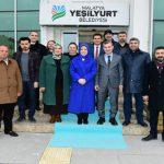 Öznur Çalık'tan Yeşilyurt Belediyesine Ziyaret