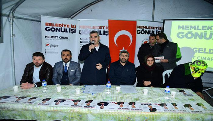 Mehmet Çınar Yeşilyurt'umuzu Büyük Hedeflerle İlerlettik