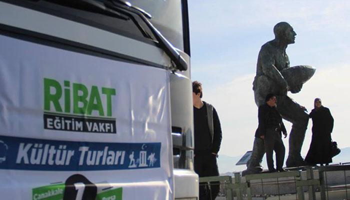 Ribat Eğitim Vakfından Çanakkale ve Bursa'ya Tarih ve Kültür Turları