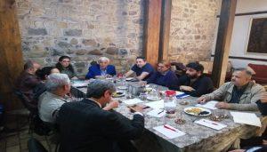 Çekül Vakfı Heyeti Arapgir'de İncelemelerde Bulundu