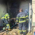 Başkan Kılınç, Evlerinde Yangın Çıkan Aileyi Ziyaret Etti