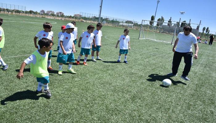 Karatay Yaz Spor Okulları'nda Eğitimler Başladı