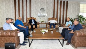 MÜSİAD Heyetinden MASKİ Genel Müdürü Karataş'a Ziyaret