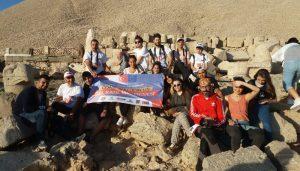 MAFSAD Nemrut Dağı Milli Parkını Ziyaret Etti