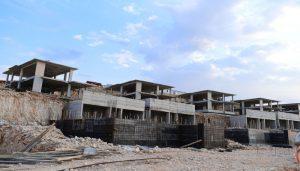 Başkan Çınar, Yeşil Yaka Villalarındaki İnşaatları Yerinde İnceledi