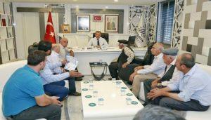 Başkan Kılınç, Yeşilyurt Mahallesi'nin Sorunlarını Dinledi
