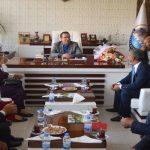 Akçadağ Muhtarlar Derneği Belediye Başkanı Ali Kazgan Ziyaret Etti