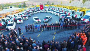 Battalgazi Belediyesinin Araç Filosu Büyüyor